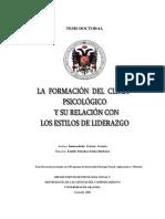 Doctorado Formacion Del Clima Ps y Estilo Liderazgo.desbloqueado