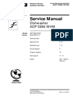 Whirlpool Point Adp 5966 Whm