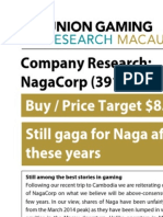 NagaCorp research