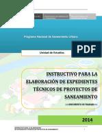 Instructivo Para La Elaboracion de e.t. 05.03.14 Final(Pnsu)