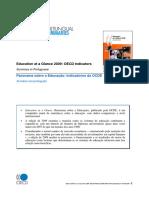 Panorama Sobre a Educação 2009 Indicadores Da OCDE