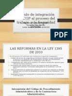 Módulo de Integración Del CGP Al Proceso Del