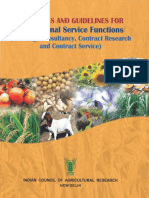 ICAR Guidelines PSF 2014