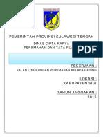 Sampul Dokumen Penawaran Jalan Lingkungan