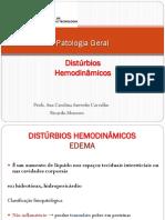 7 Distúrbios Hemodinâmicos 2015.2