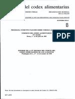 Codex Higiene de Alimentos