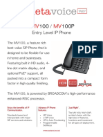 IP Phone Metavoice MV100 (P)