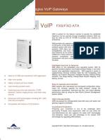 VOIP Gateway Newrock MX8