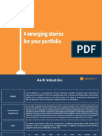 4 Emerging Stories for Your Portfolio