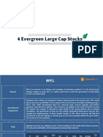 4 Evergren Large Cap Stocks