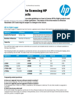 HP Partner Guide_ Licensing HP ArcSight Products FY14