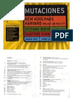 Koolhaas Rem - Mutaciones (arquitectura).PDF