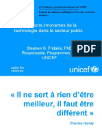 Stephen Fridakis Innovative Uses of Technology in the Public Sector Francais