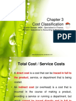 Chapter 3 Cost Classification