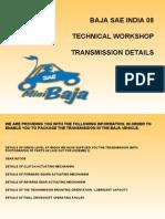 Baja Transmission Presentation
