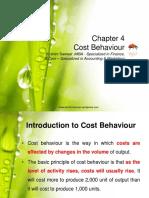 Chapter 4 Cost Behaviour