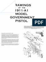 1911 Complete Blueprints