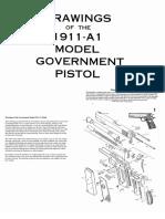 1911 Complete Blueprints
