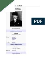 Mustafa Kemal Atatürk Ki̇mdi̇r