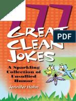 777 Great Clean Jokes - Jennifer Hahn