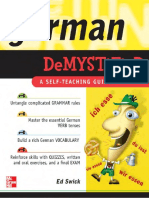 German Demystified - Self Teaching Guide, e. Swick