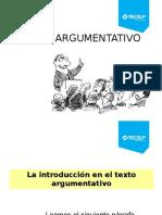 Texto Argumentativo_TECSUP