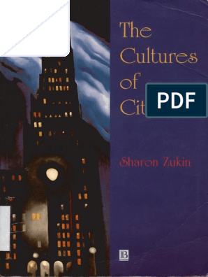 Sharon Zukin-The Cultures of Cities-Blackwell (1995) | Museum