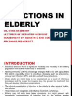 Infection in elderly