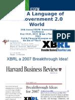 Liv Watson ICGFM XBRL a Language of the Government World English