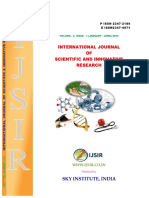International Journal of Scientific and Innovative Research 2015; 3(1)P-ISSN 2347-2189, E- ISSN 2347-4971