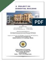 G + 9 residential building design
