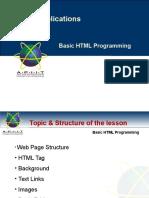 04 Basic HTML Programming
