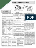 Manual Ie600