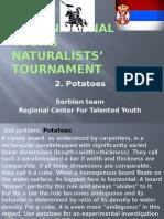 Engleski 2. Zadatak, 2nd International Young Naturalists' Tournament