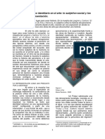 Pedroni, Casella y Sosa - El Discurso Histórico Identitario en El Arte Lo Subjetivo-social y Los Avatares de La Representación