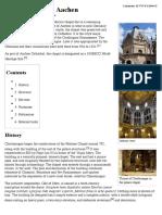 Palatine Chapel, Aachen - Wikipedia, The Free Encyclopedia