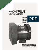 Manual de Manten Generador MARATHON
