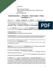 Estudo Dirigido 2 - 3 Principios Conservação (Parte 1)