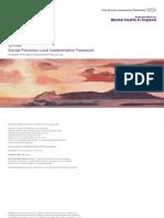 S-Kit Suicide Prevention Local Implementation Framework