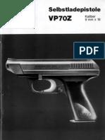 HK VP70Z Manual