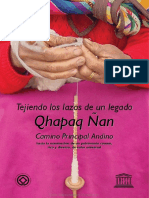 Tejiendo Lazos El Qhapaq Ñan