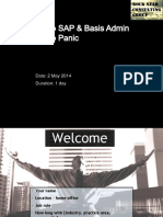 Introduction to SAP and Basis Administra