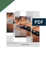 Manual de Instalación Suelo Técnico