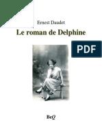 Le Roman de Delphine - Daudet, Ernest