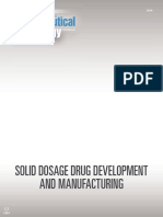 Pharmaceutical Technology eBook Solid Dosage Drug Development and Manufacturing