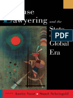 Austin Sarat, Stuart Scheingold-Cause Lawyering and the State in a Global Era (Oxford Socio-Legal Studies) (2001)