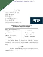 Skywalker v. YJ IP - Complaint