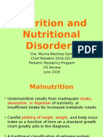 Nutrition and Nutritional Disorders ITE