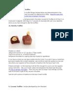 Chocolate for Coating Truffles