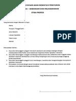 Surat Pernyataan Etika Profesi